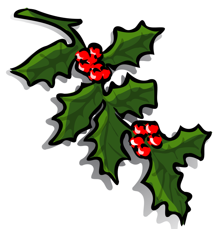 Graphics of wreaths and. Clipart christmas leaves