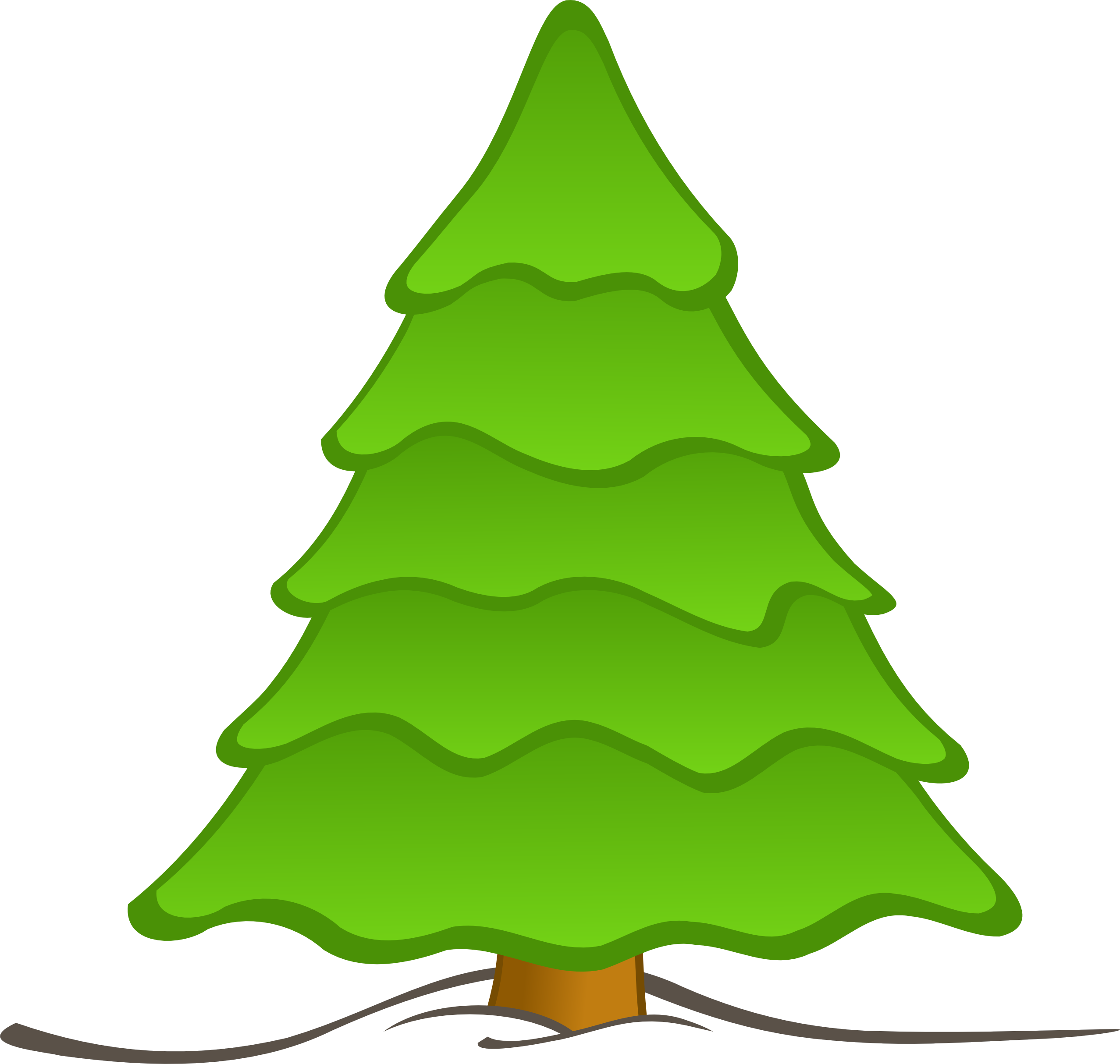 collection of plain. Tree clipart base