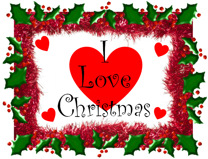 Clipart christmas love. Fussy and fancy friday