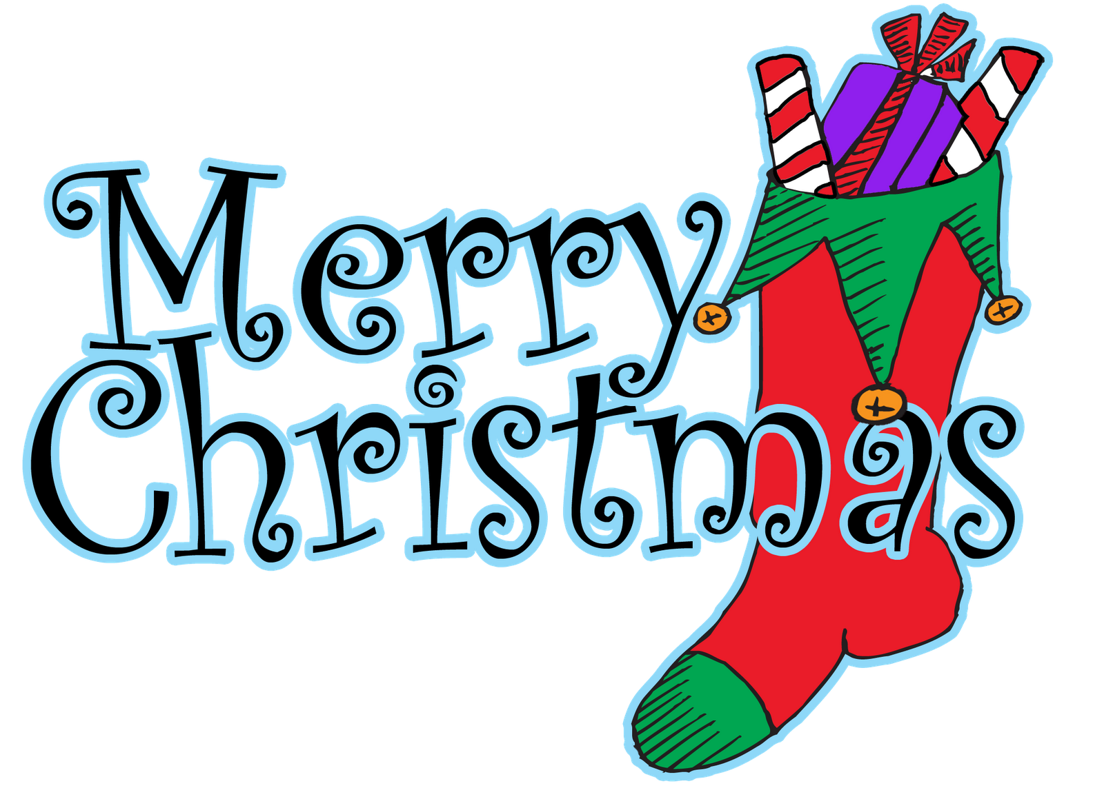 Clipart Design Merry Christmas Clipart Design Merry