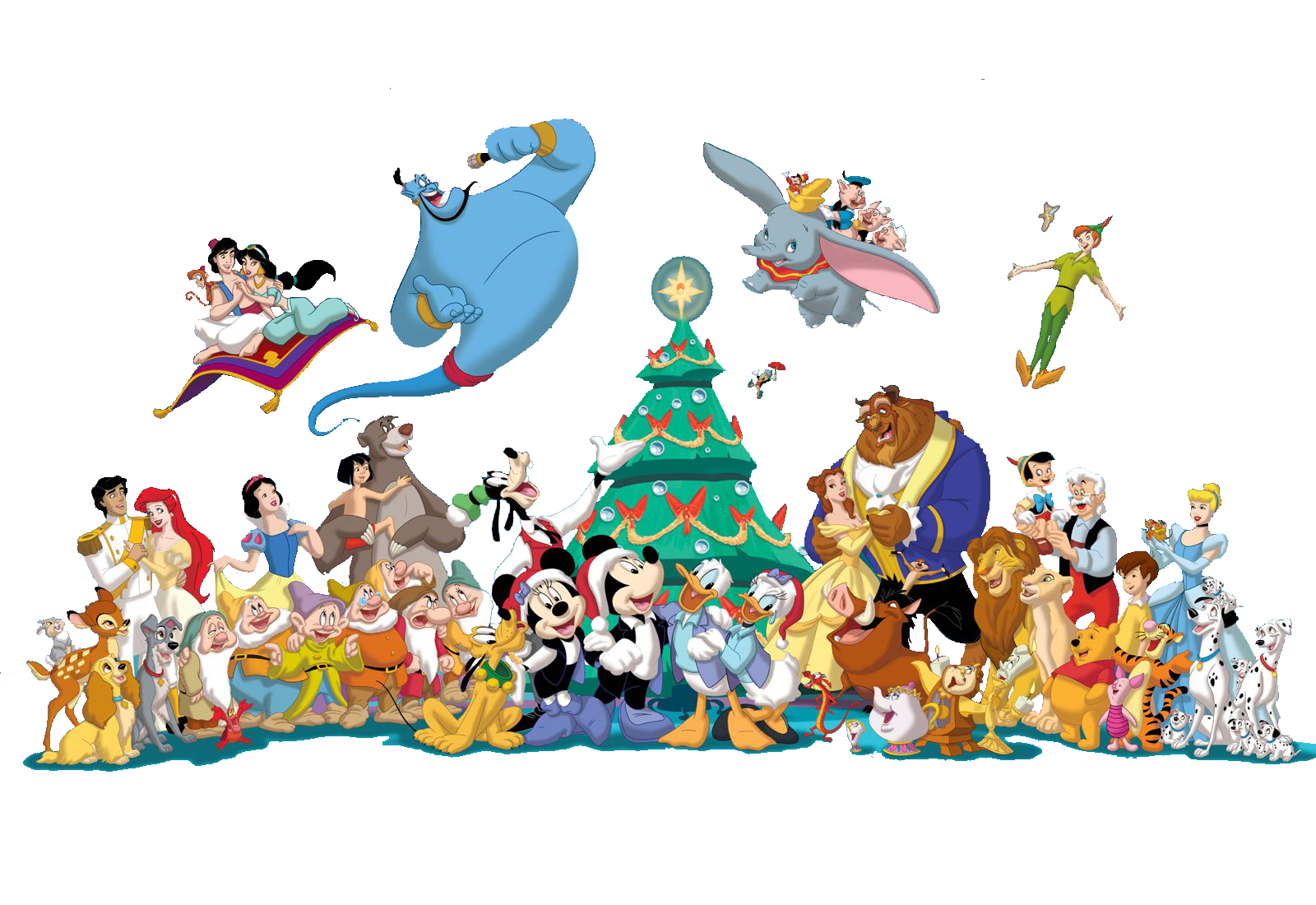 Disney png images.  collection of christmas