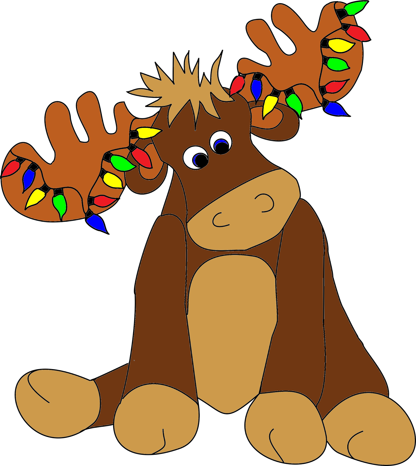 Free christmas cliparts download. Moose clipart kid