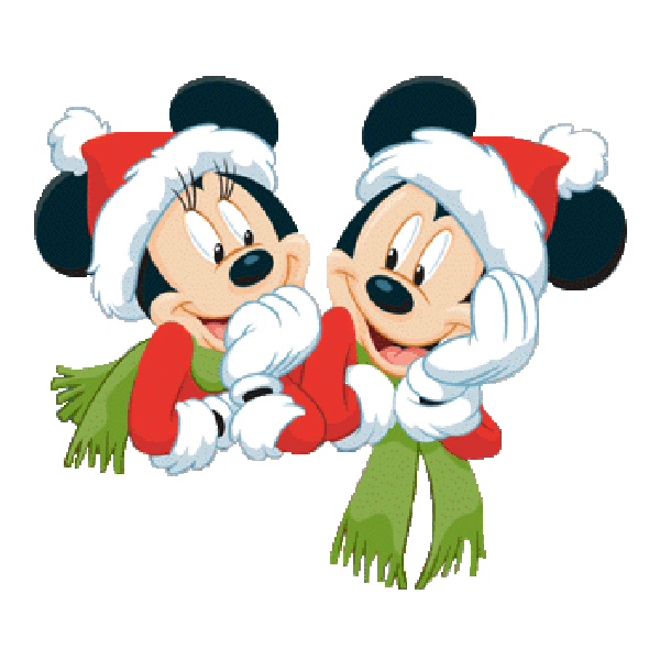 Mouse and friends xmas. Clipart snowman mickey