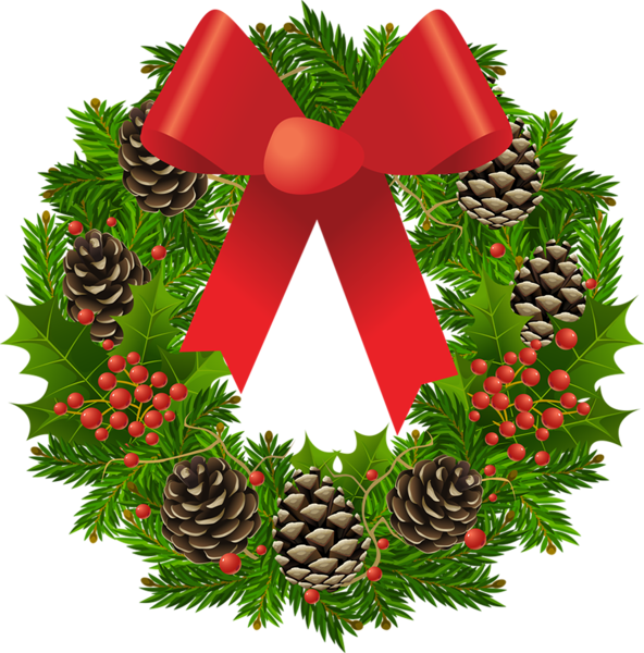 Fruits clipart wreath. Transparent christmas picture gallery