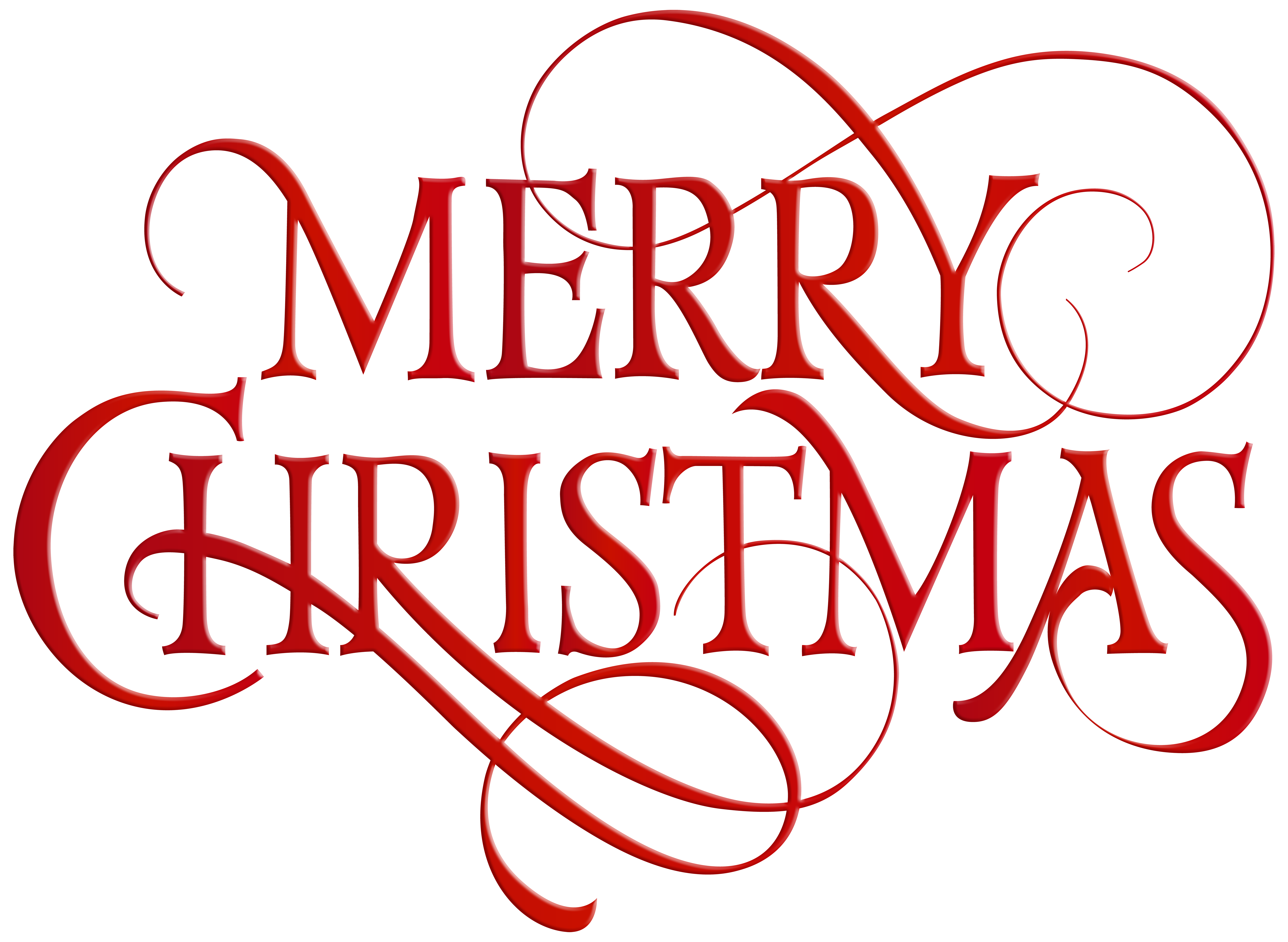 Merry red transparent png. Clipart christmas outline