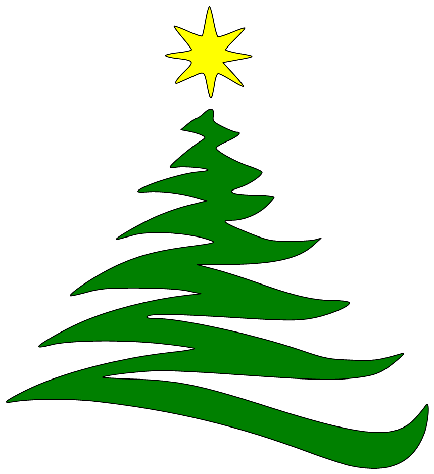 Free svg files here. Clipart christmas outline
