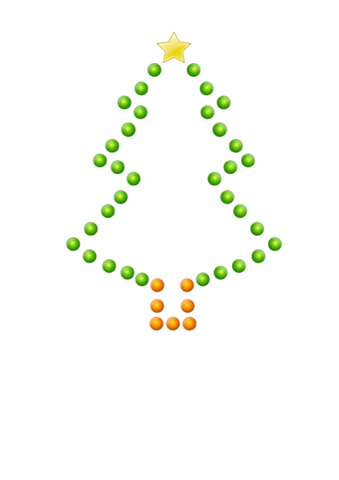 Clipart christmas outline. Tree free holiday graphics