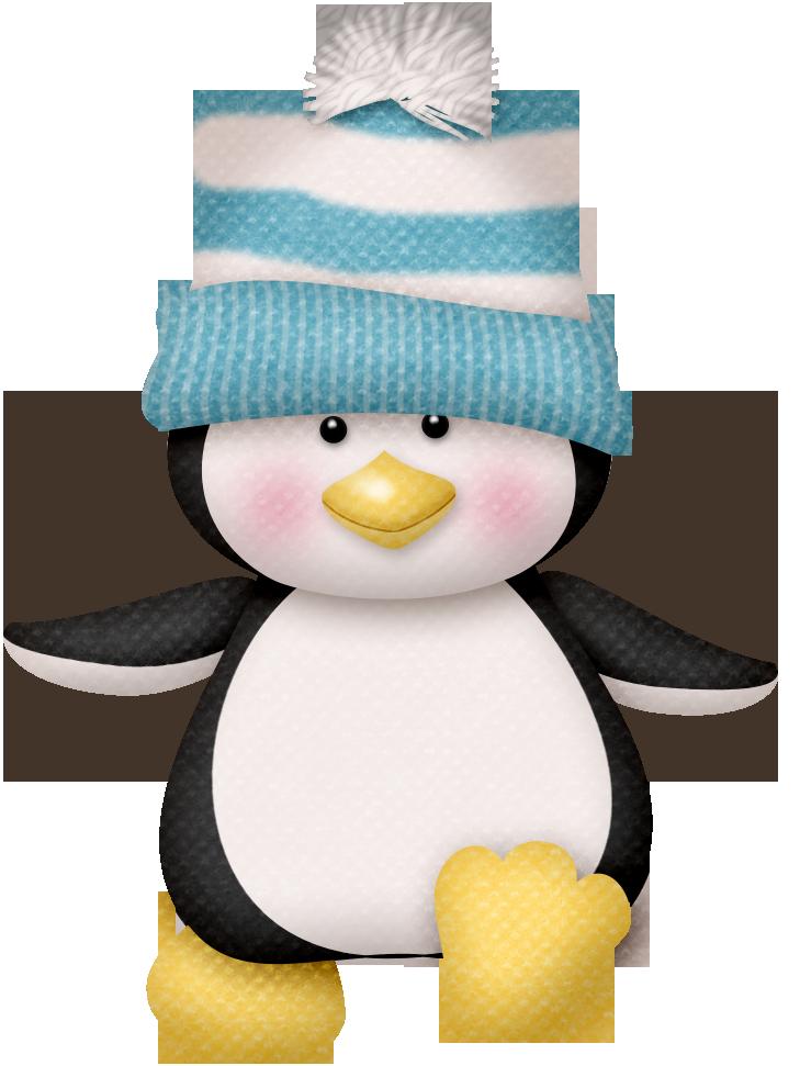 Winter clipart beanie. Lliella penguin png pinterest