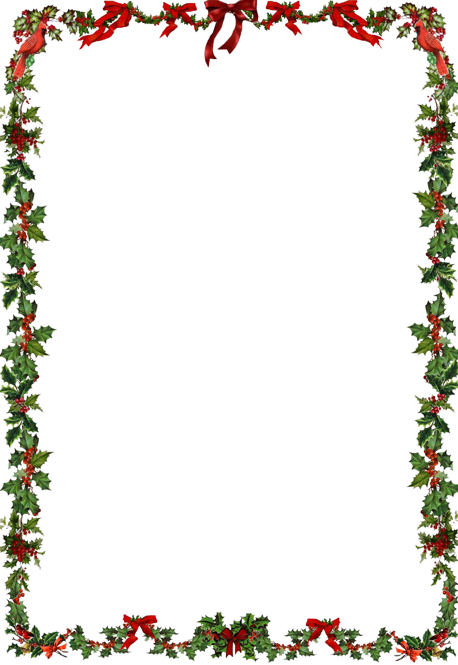 Christmas frame png. Clipart mart