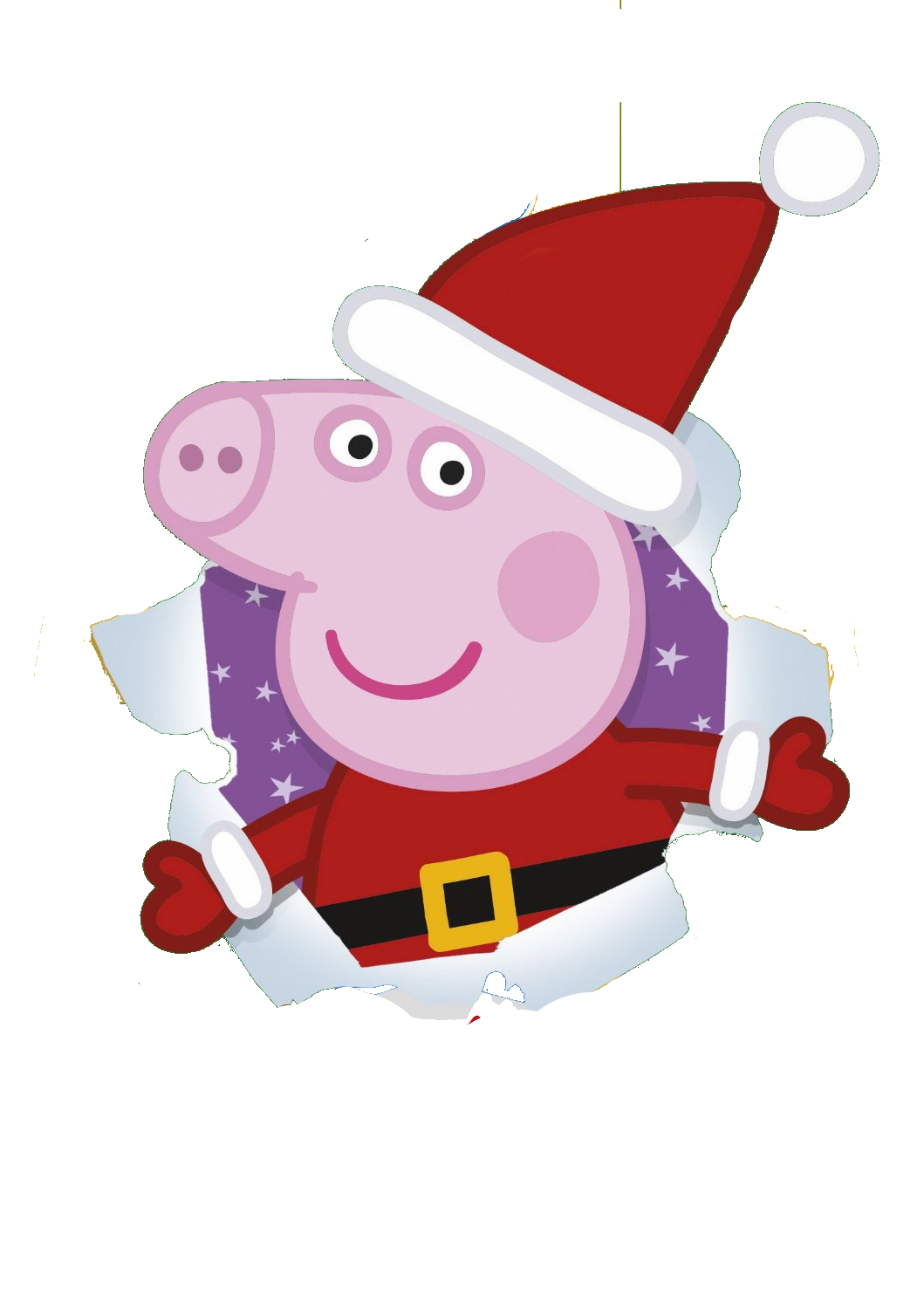 collection of peppa. Pig clipart christmas