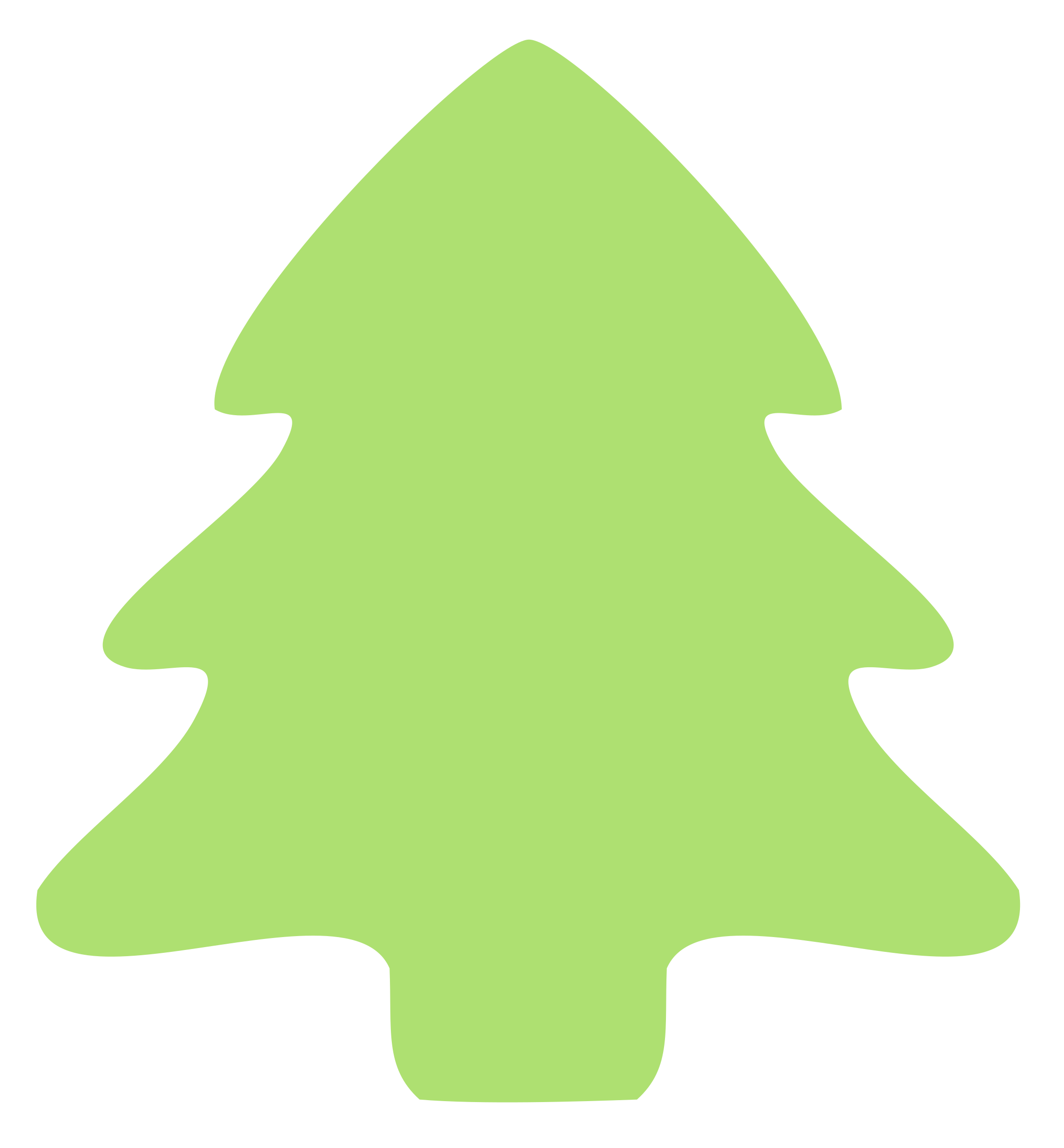 Leaves Clipart Christmas Tree Leaves Christmas Tree
