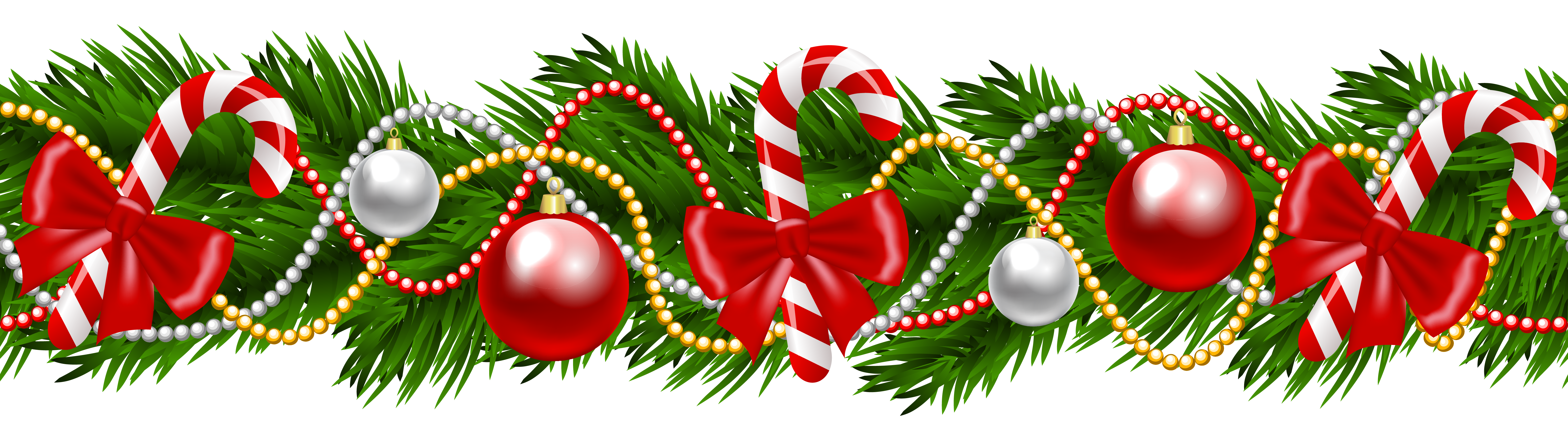 Fruit clipart garland. Merry christmas holiday pencil