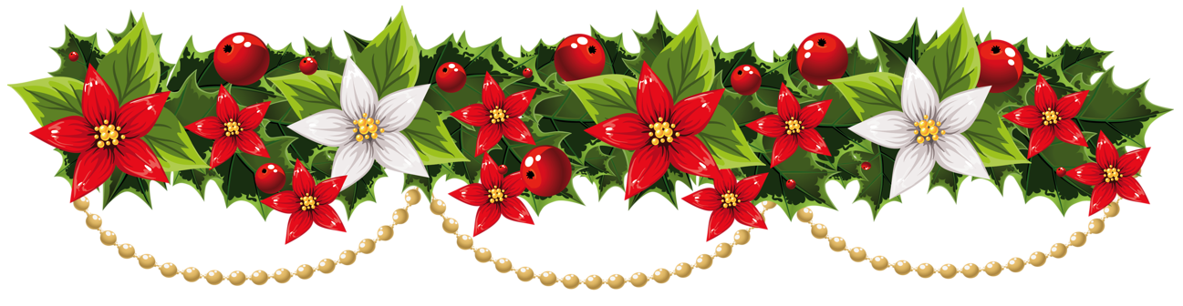 poinsettias clipart yuletide