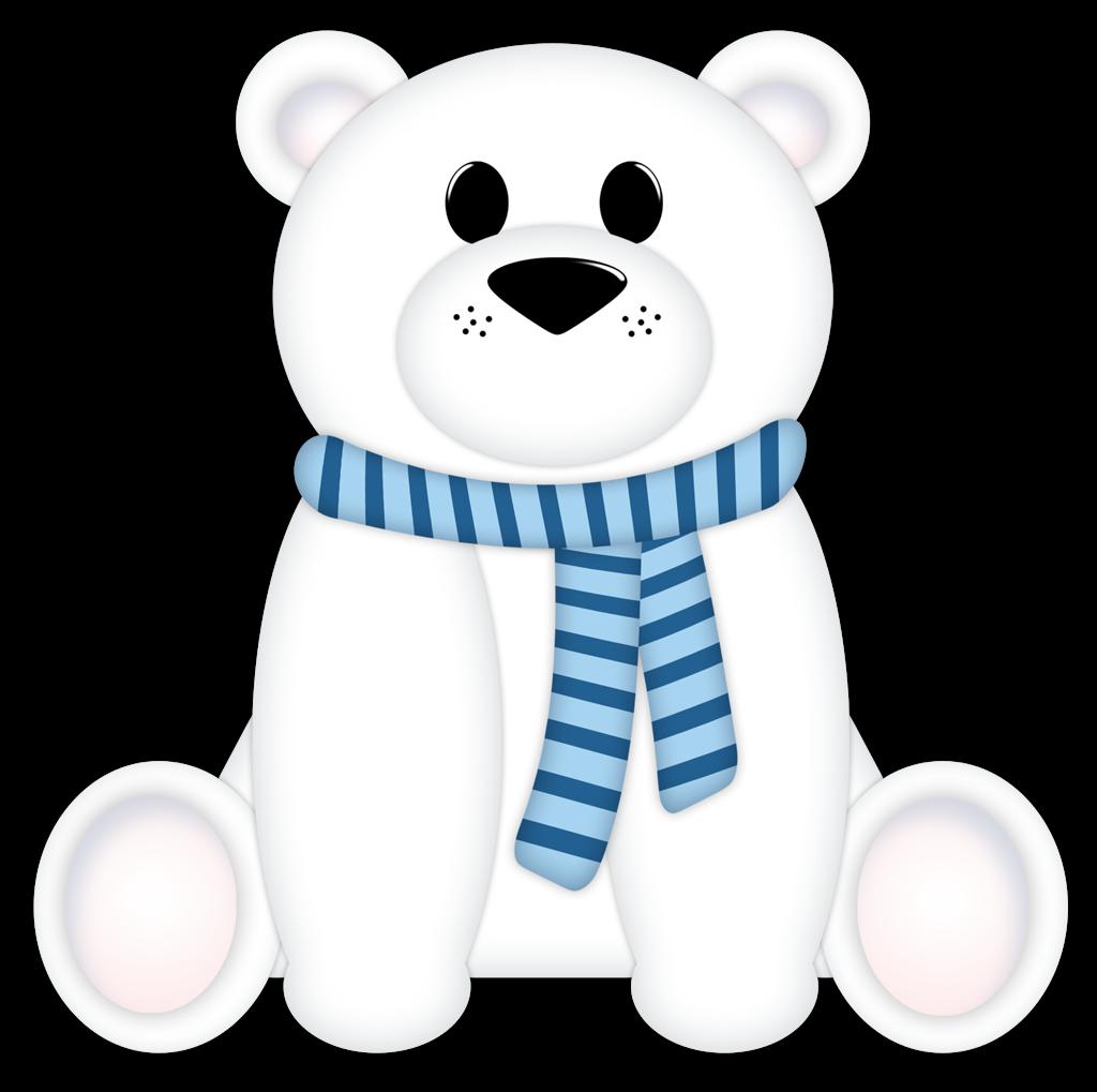 Holiday clipart polar bear. Christmas at getdrawings com