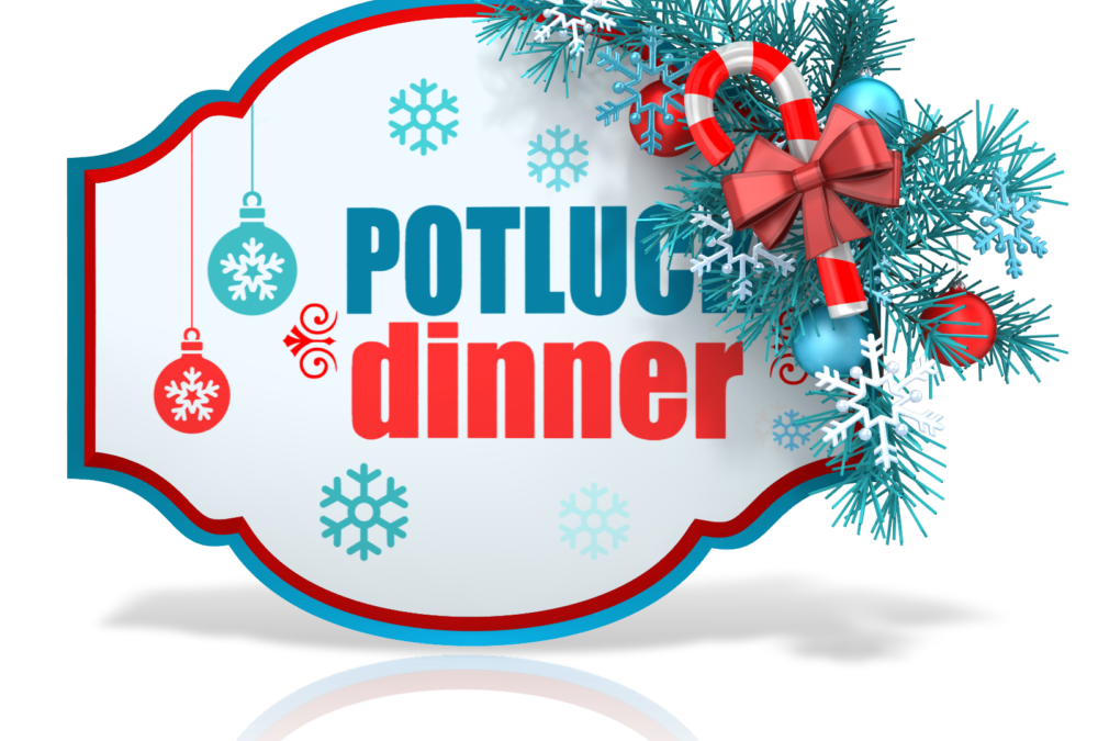 collection of christmas. Lady clipart potluck