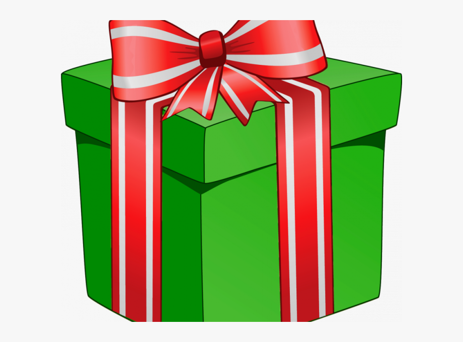 Clipart present special gift. Christmas