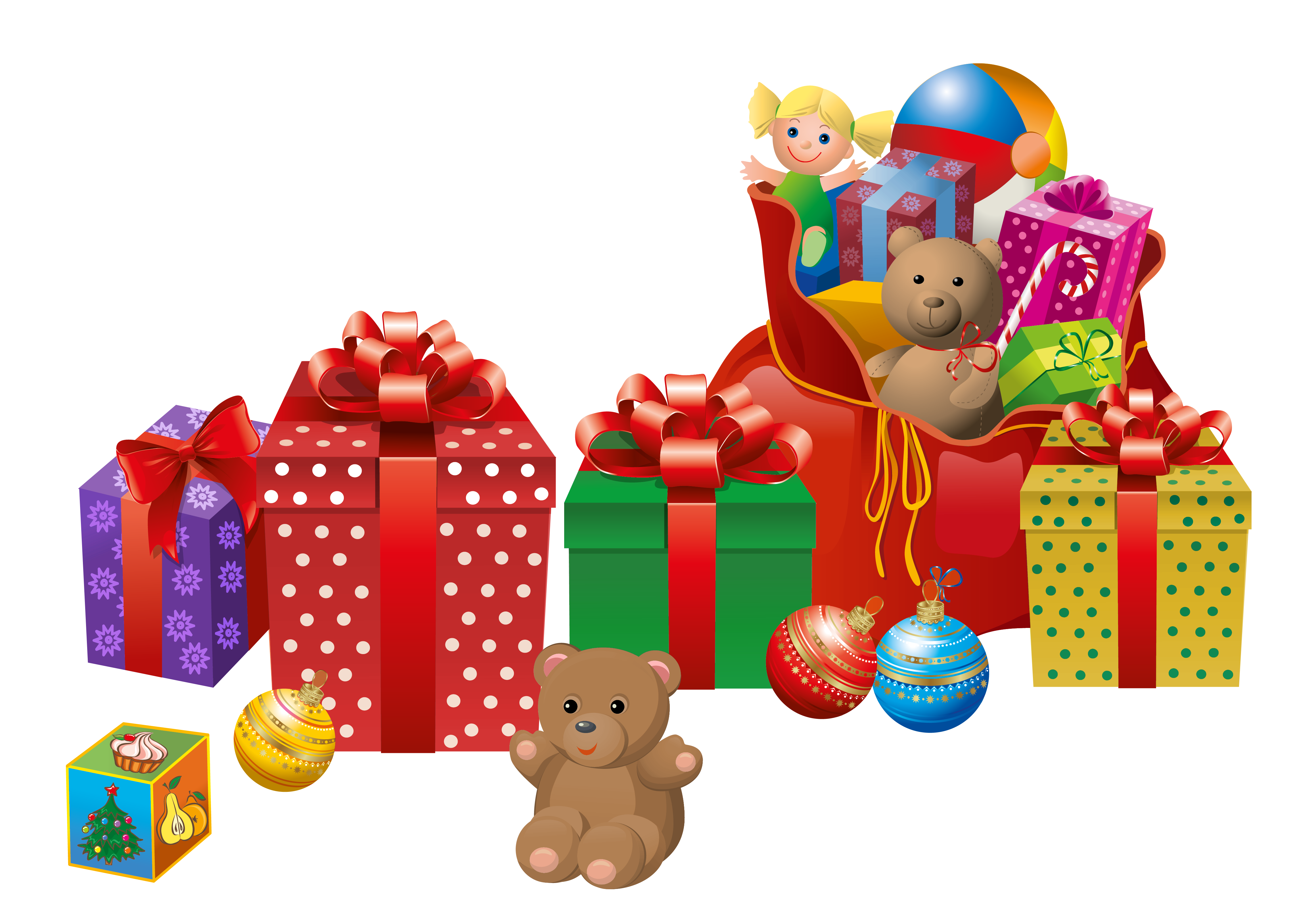 Clipart frames toy. Transparent christmas presents png