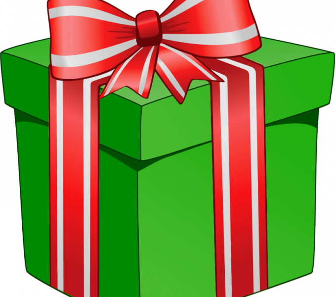 Christmas free images presents. Clipart present parcel
