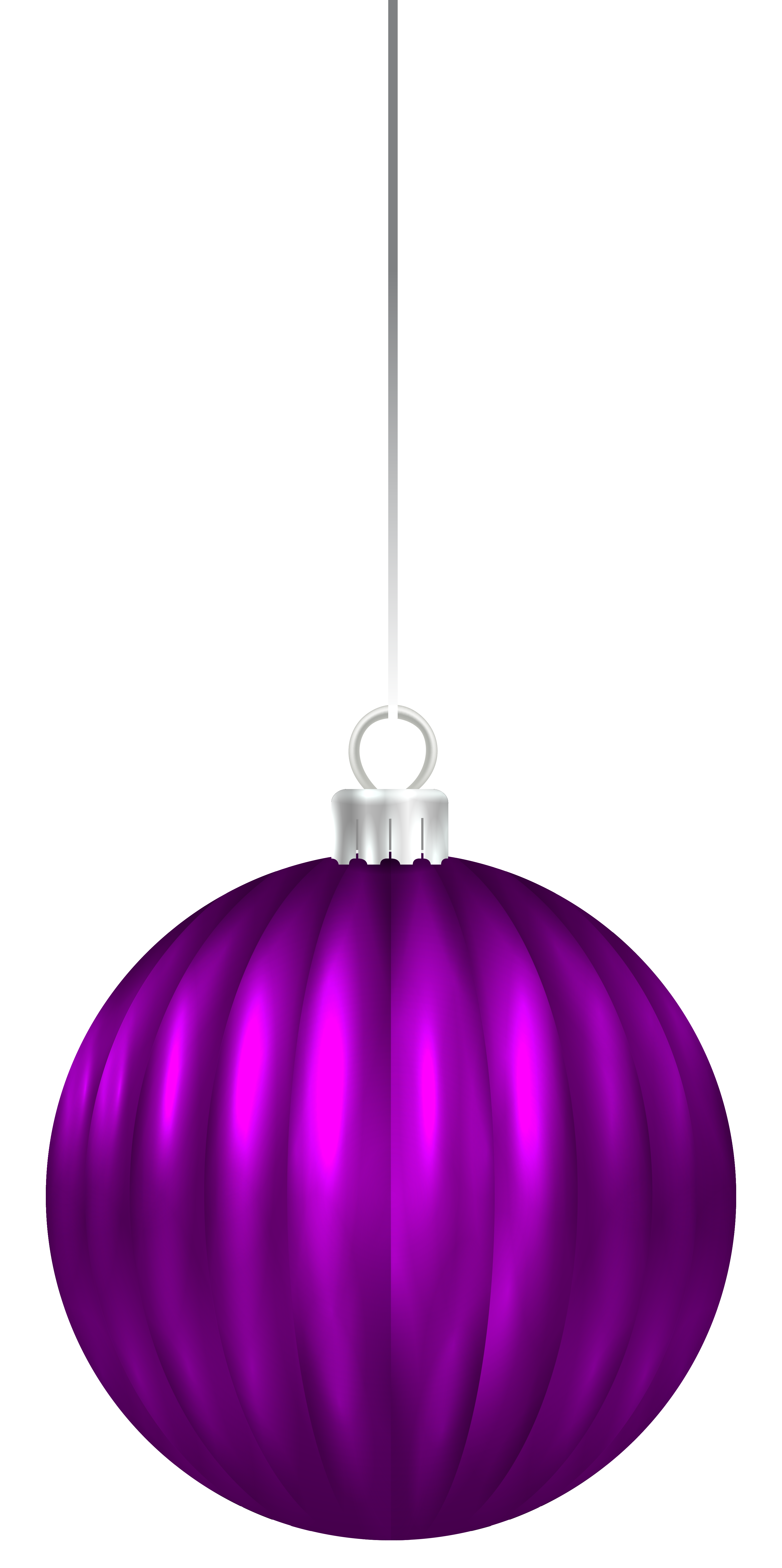 Clipart christmas purple. Ball ornament png clip