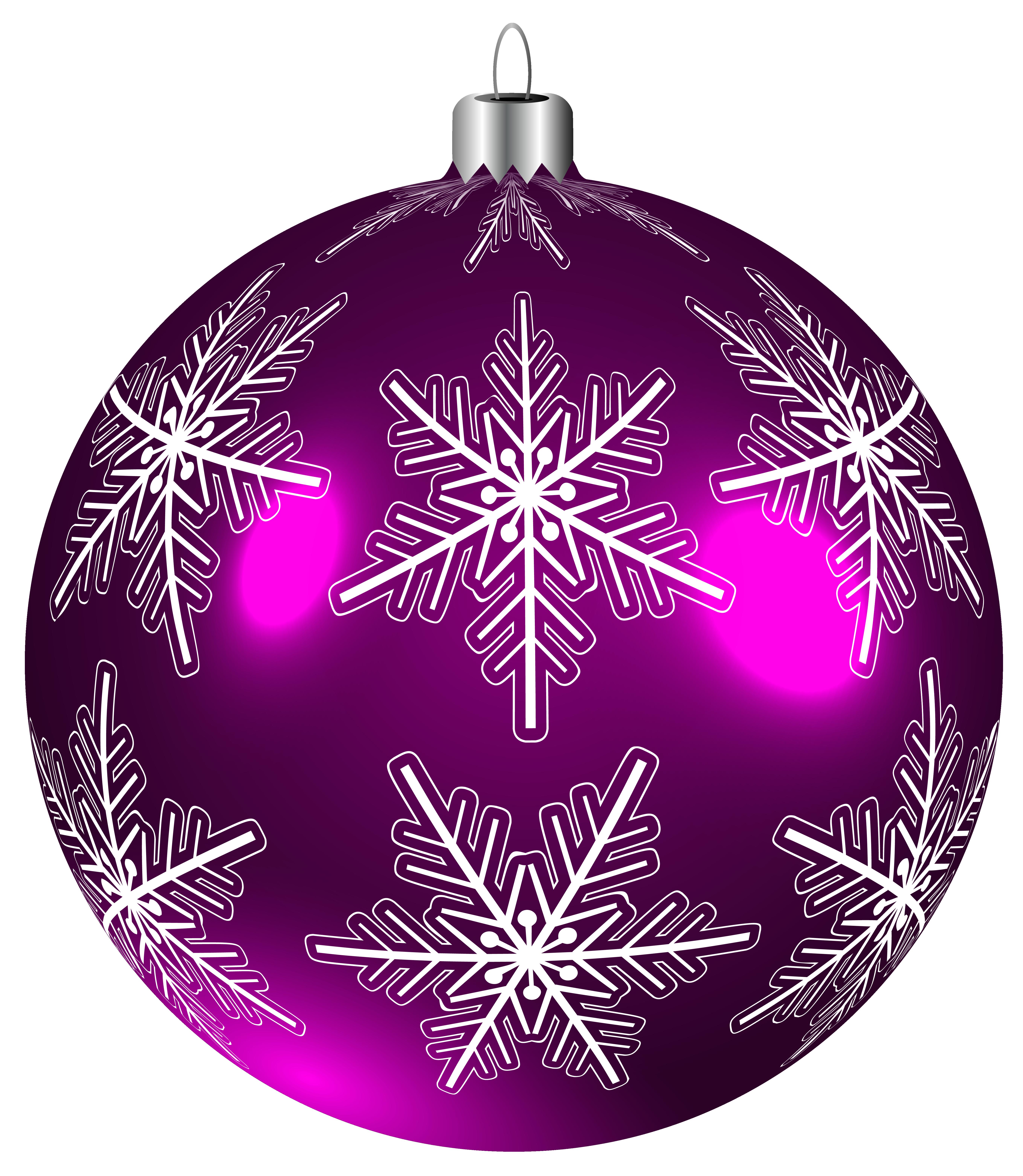Ornaments clipart sphere. Beautiful purple christmas ball