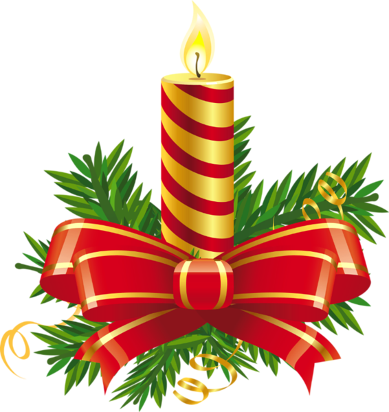 Transparent christmas red png. Holly clipart candle