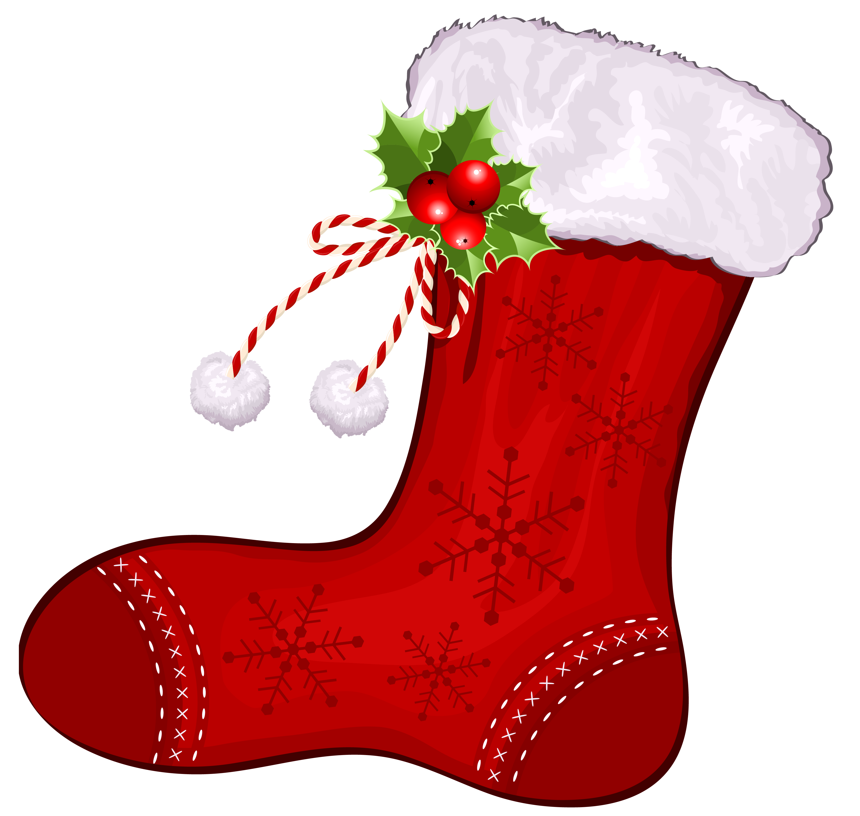 Exercise clipart christmas. Large transparent red stocking