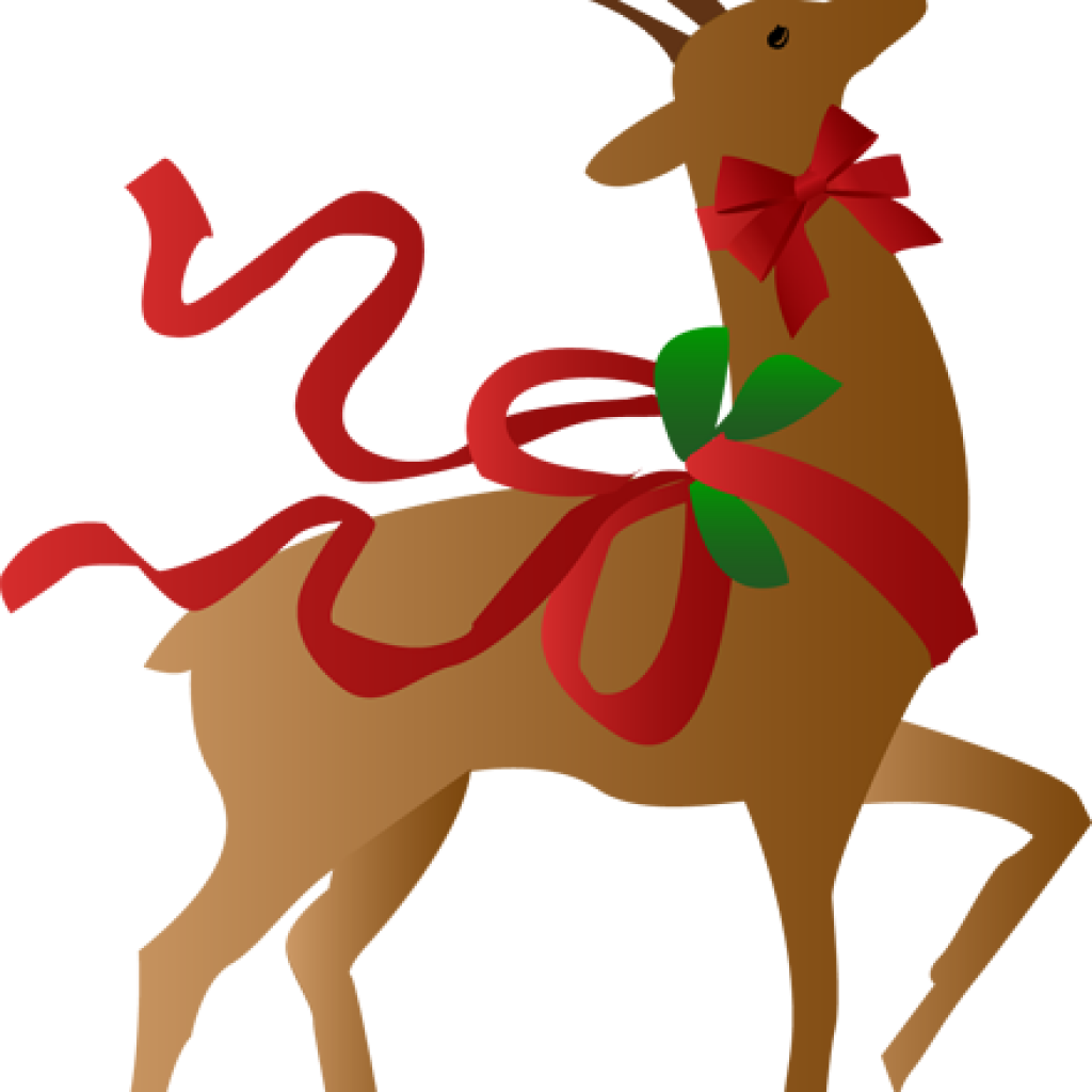 Free vector and clip. Clipart reindeer holiday
