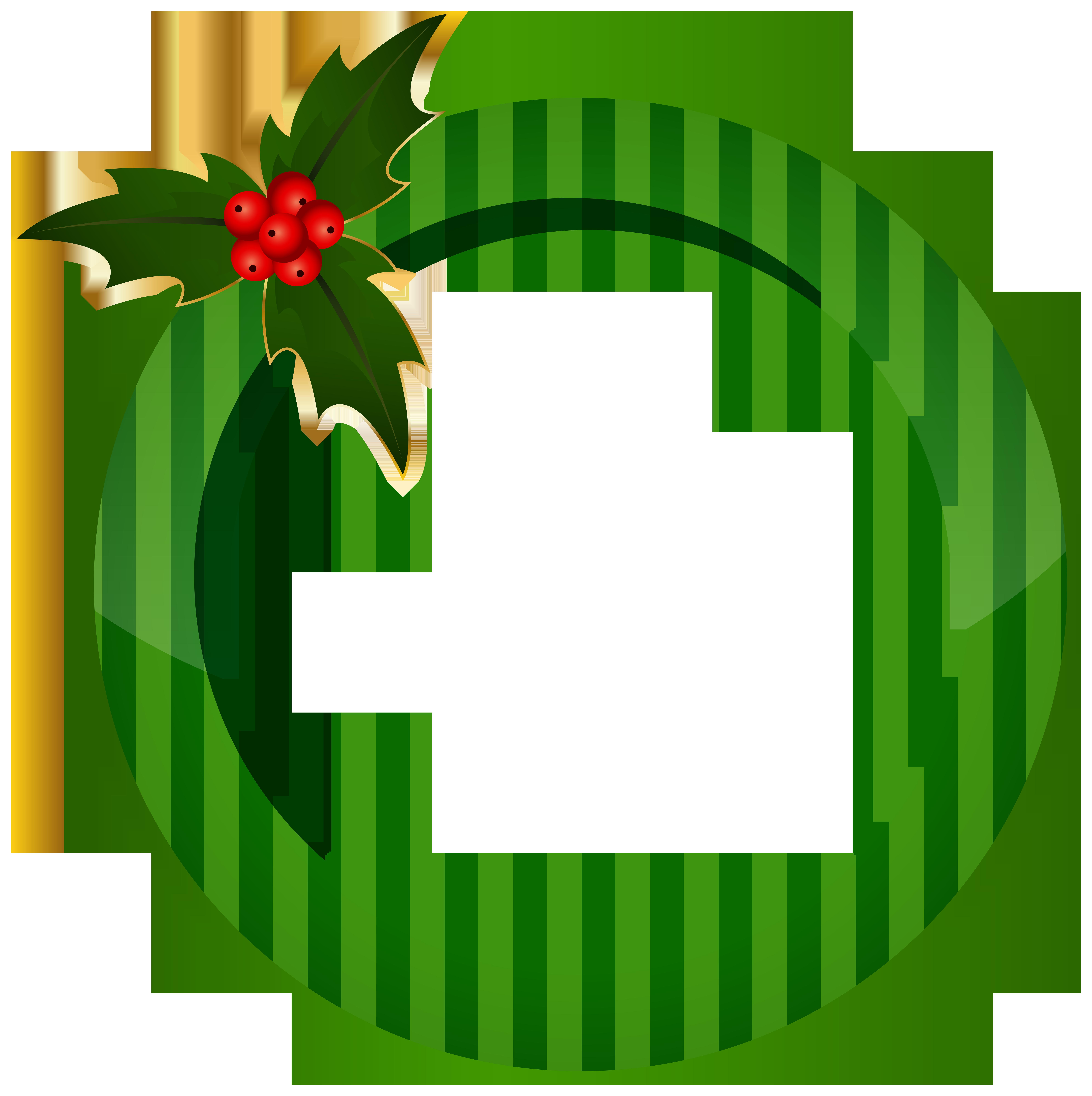 Grain clipart circle. Christmas round green frame