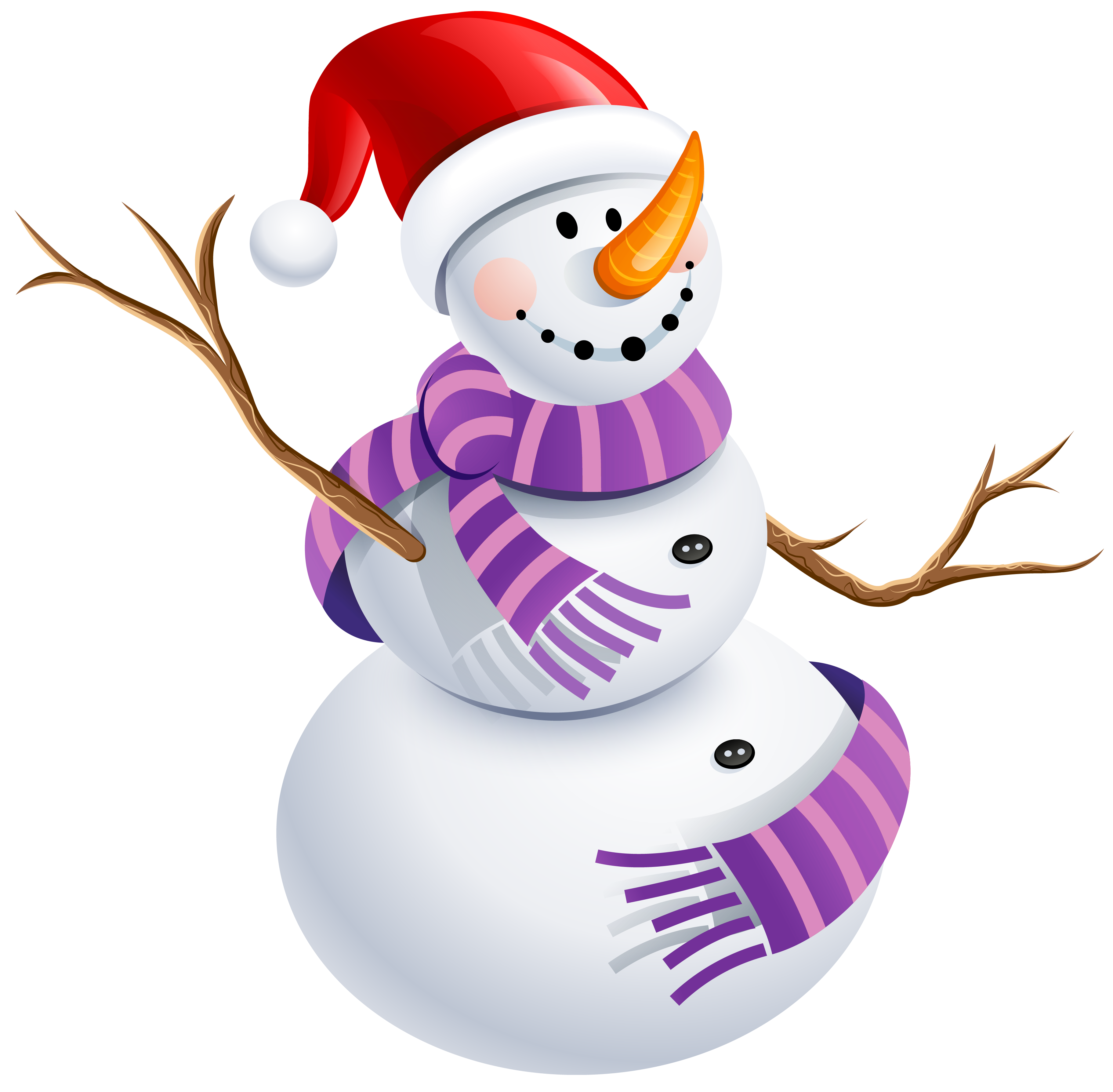 With purple scarf png. Mexican clipart snowman