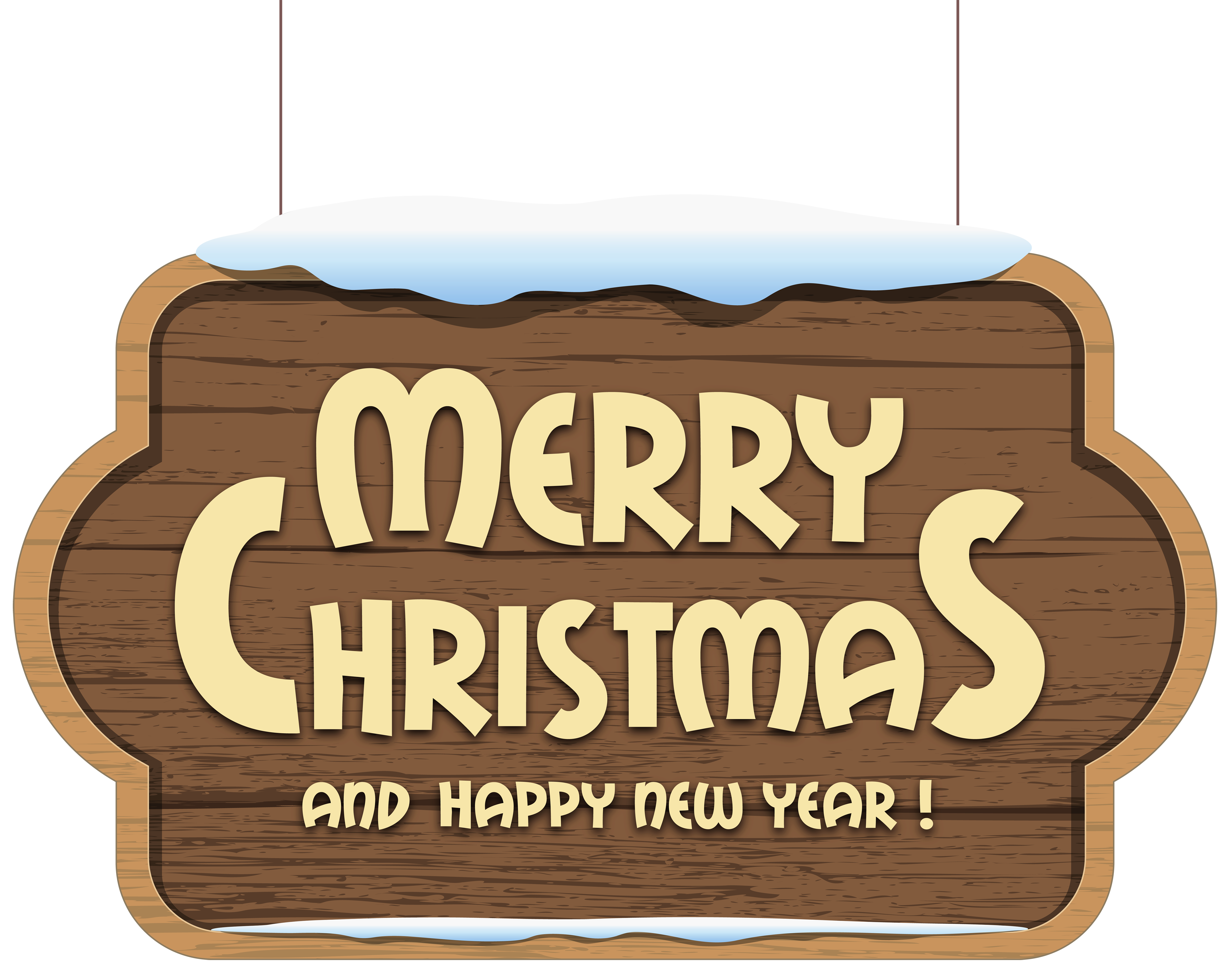 Merry christmas wooden sign. Firewood clipart kayu