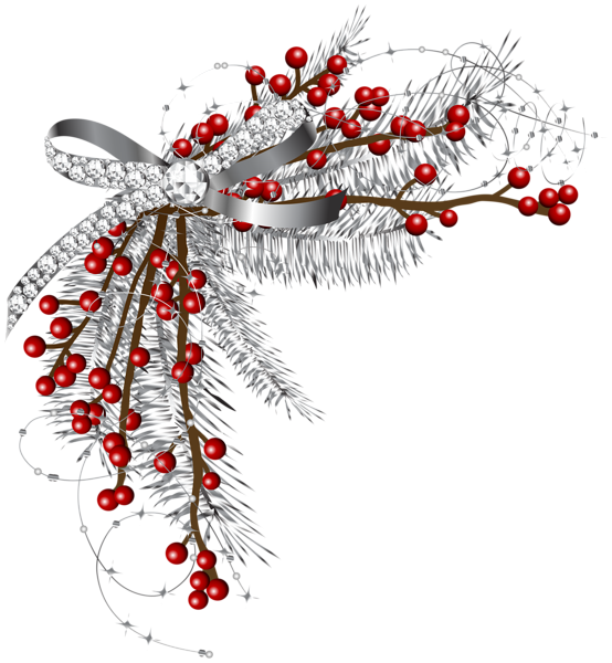 Clipart christmas silver. Gallery png