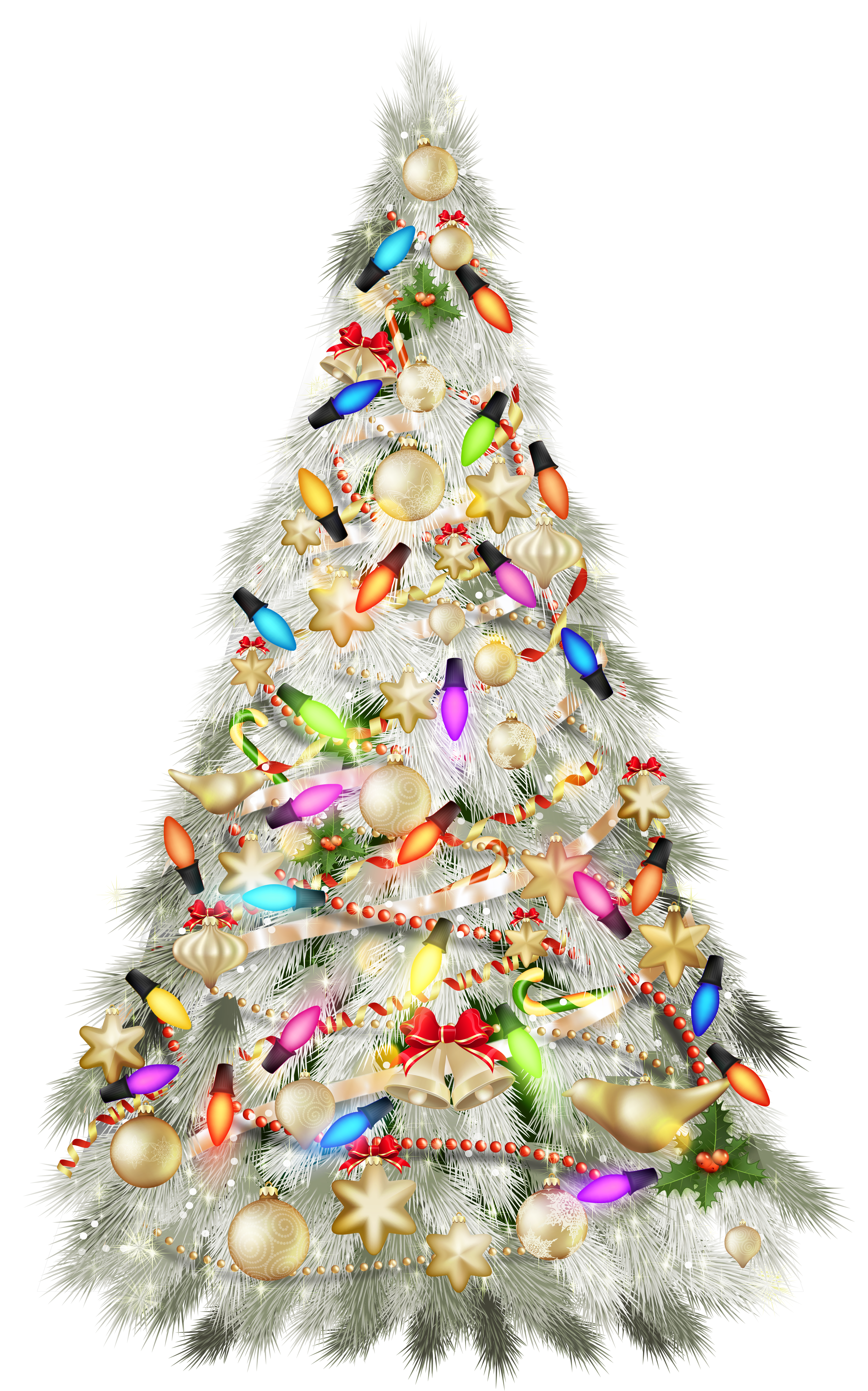 Transparent silver deco. Fireplace clipart christmas tree fireplace