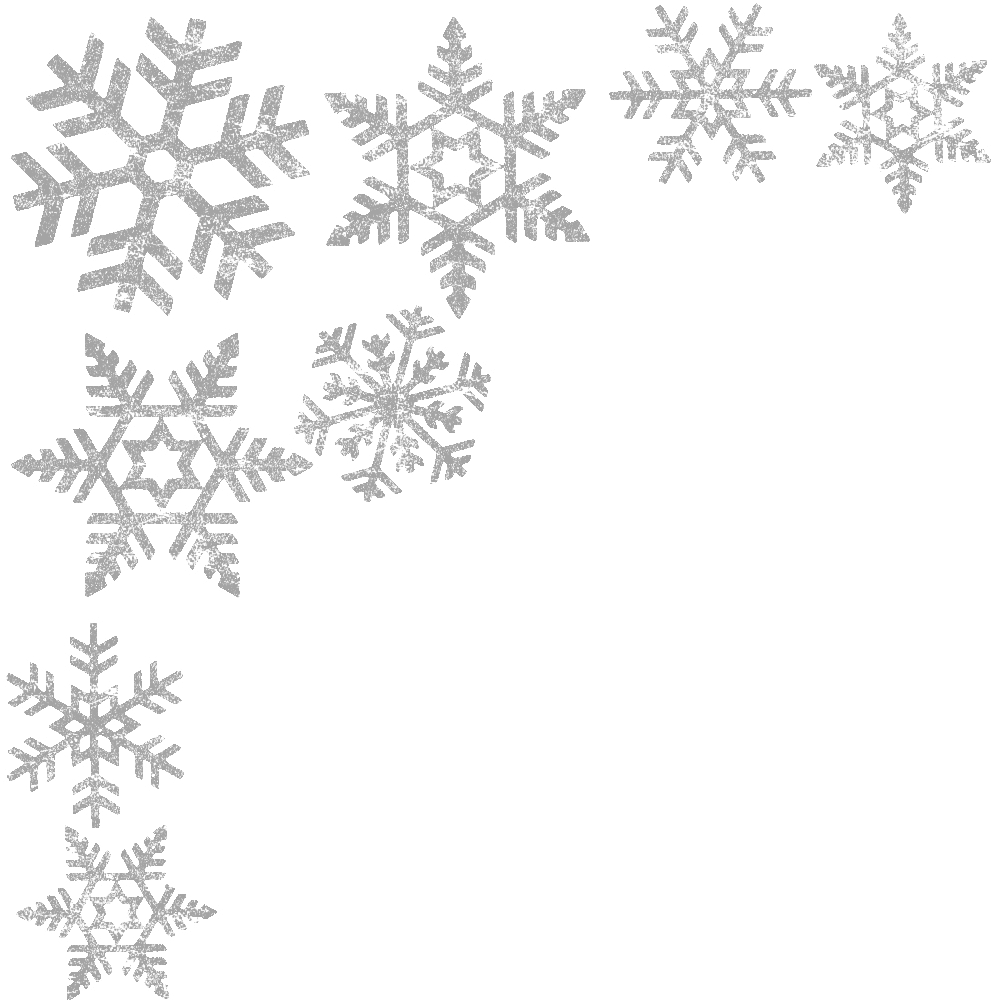 collection of christmas. Winter clipart divider