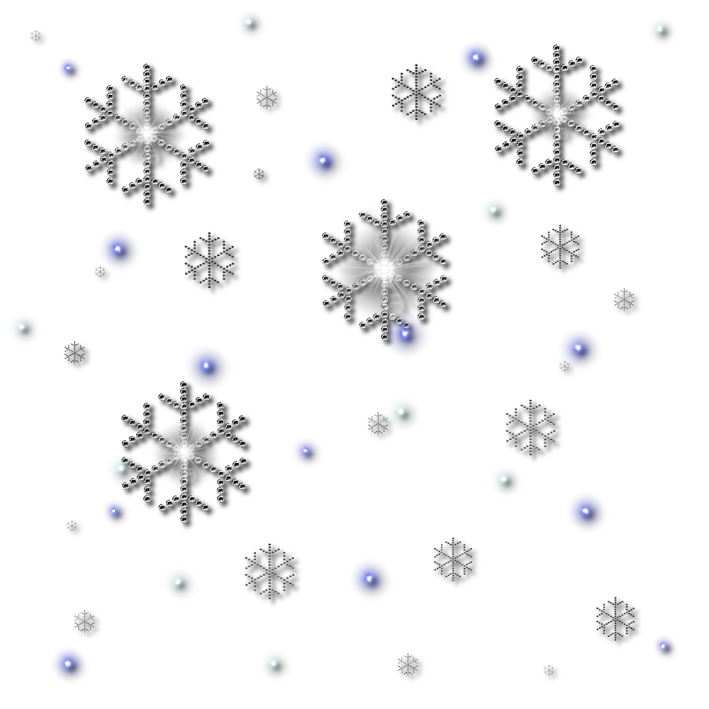 Crystal clipart black snowflake. Png snowflakes falling best