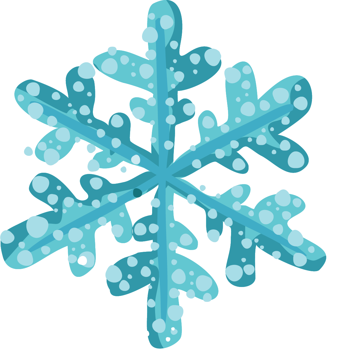 Holiday clipart end. Free christmas snowflake snowflakes