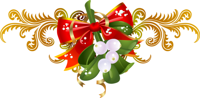 Christmas holly border png. Clip art for the