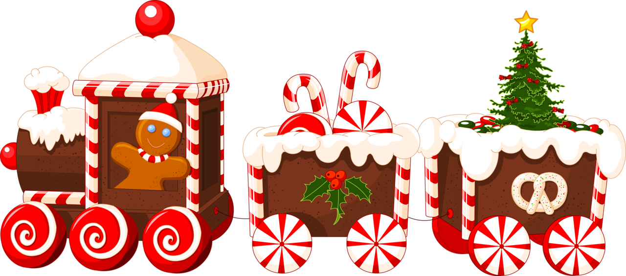Christmas at getdrawings com. Gingerbread clipart train