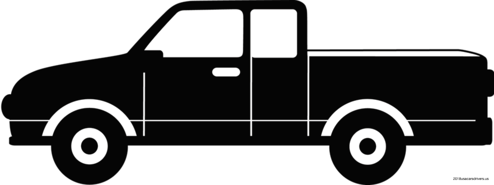 Pumpkin clipart truck. Lifted silhouette at getdrawings