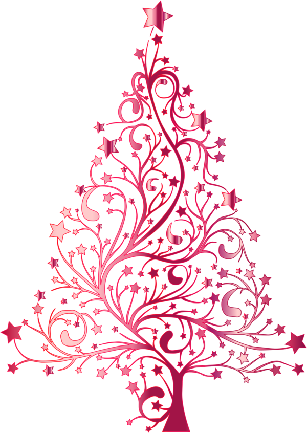 Clipart christmas watercolor. Pink tree site about
