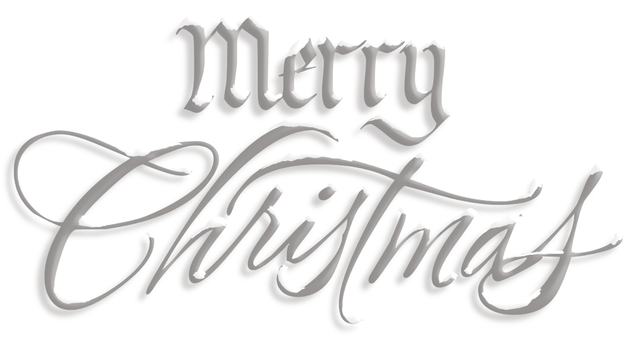 Merry christmas text gallery. Words clipart transparent
