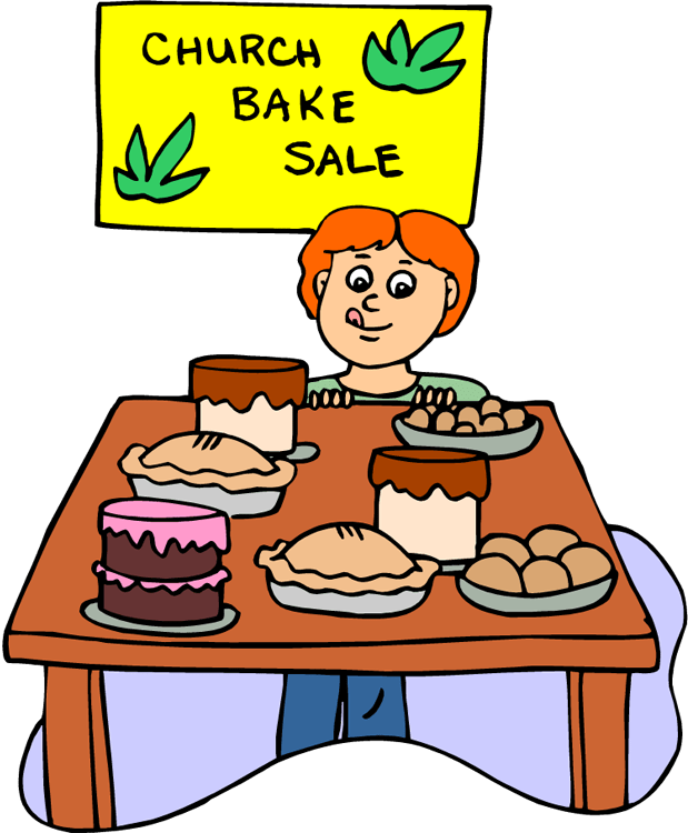 And free hot dogs. Clipart church bake sale