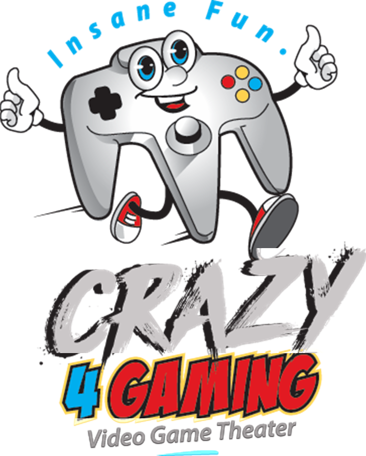 Crazy gaming video game. Clipart church block party