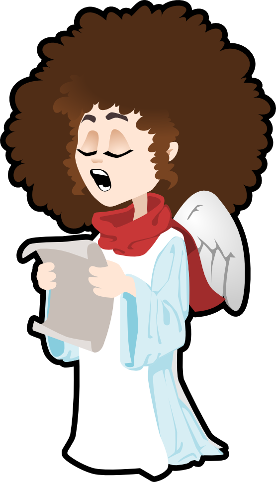 Free kids singing download. Choir clipart religious