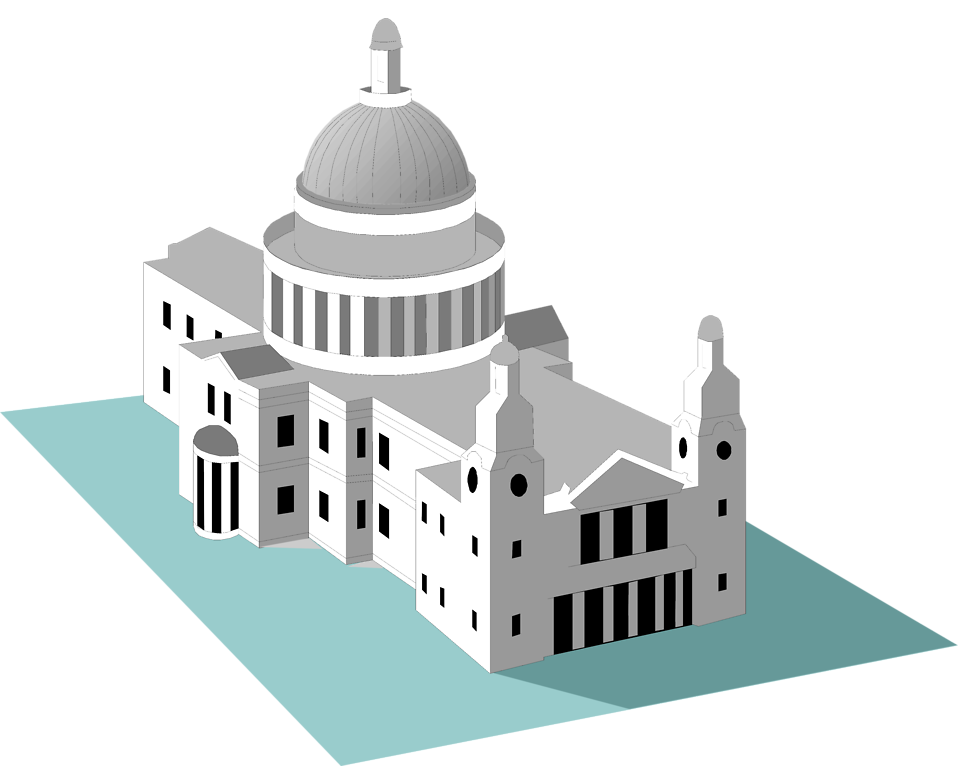 Clipart church cathedral. St pauls free stock