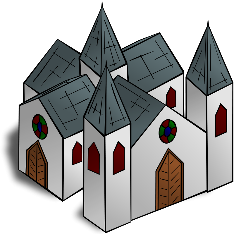 Clipart church cathedral. Free clip art rpg