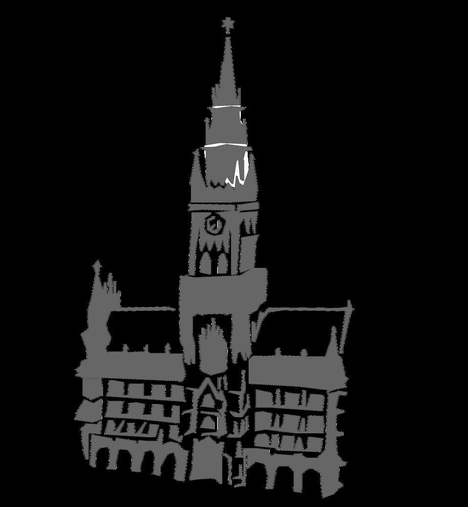 clocks clipart church