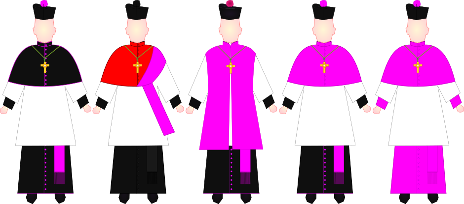 Choir dress wikiwand priest. Clothing clipart church