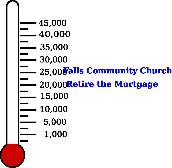 Falls community church fundraising. Fundraiser clipart clip art