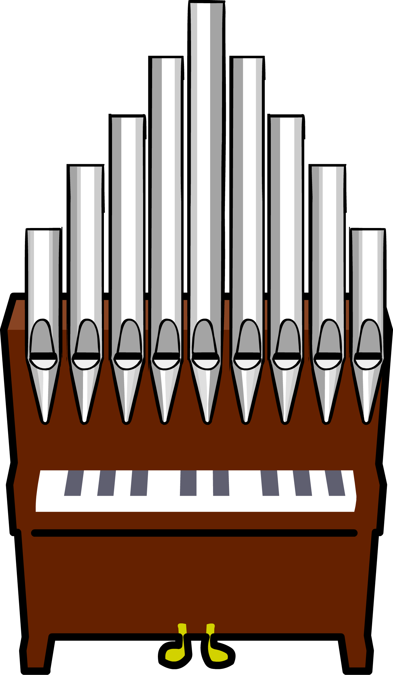 Image pipe organ png. Piano clipart woman