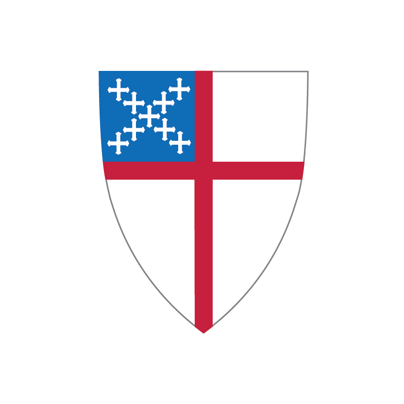Logos shields graphics episcopal. Clipart shield red black